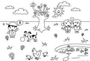 spring-weather-coloring-pages-600x410